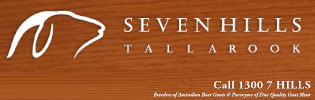 Breeders and Purveyors of Boer Goats and Goat Meat - Seven Hills Tallarook