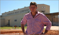 Demand for lean beef from US burger producers means boom for Kimberley's only abattoir