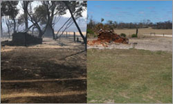 Twelve months on from fire, support is more important than ever as community recovers