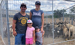 Feral goats no match for Riley family and their trusty kelpie companions